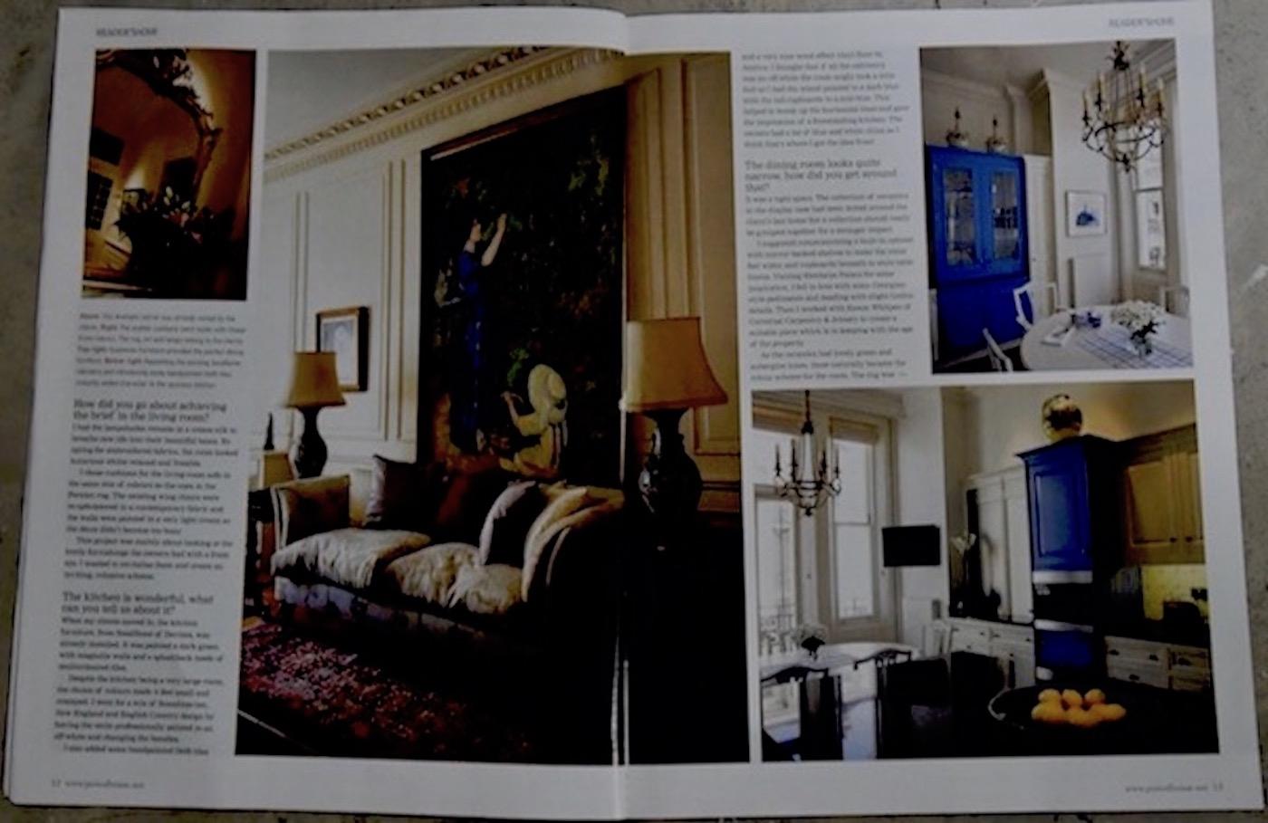Period House Magazine, Kensington Park Gardens, London p2