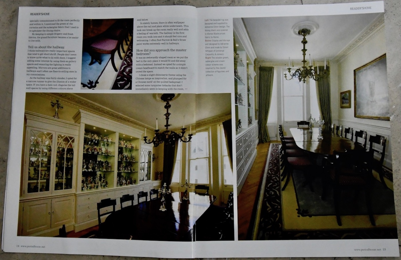 Period House Magazine, Kensington Park Gardens, London p3
